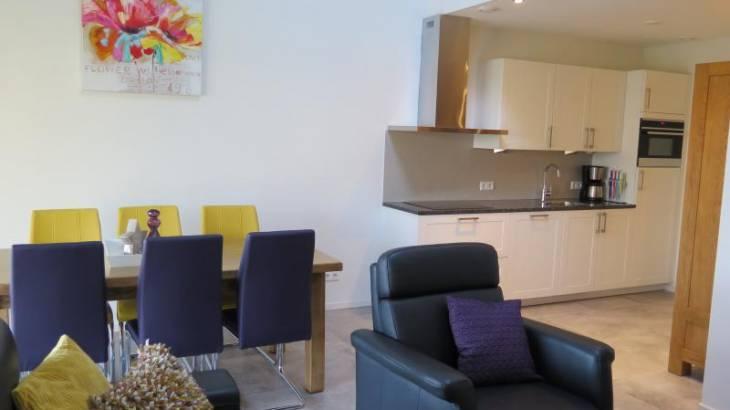 Appartement 4 – Keuken & Woonkamer
