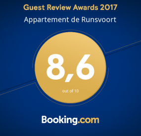 Booking.com Review Award
